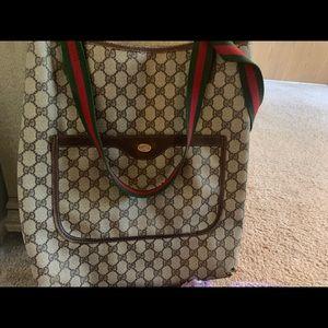 Authentic vintage Gucci tote